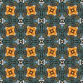 シームレスな幾何学的なパターン ベクトル — ストックベクタ