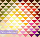 Vector background of geometric squares — Stock Vector
