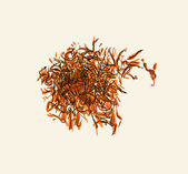 Saffron pistil — Stock Vector