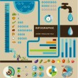 Water resource eco infographic — Stock Vector #41498191