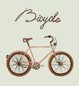 Vintage bicycle. — Stok Vektör