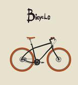 Vintage bicycle. — Stock Vector