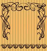 Decorative items and scope — Wektor stockowy