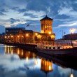 Edinburgh, Scotland, Old Harbour Building Leith — Stock Photo