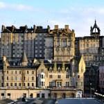Edinburgh, Scotland, Houses in the Evening Sun 2 — Stock Photo #26888153