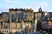 Edinburgh, Scotland, Houses in the Evening Sun 2 — Stock Photo