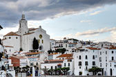 View of village of Cadaques — Stock Photo