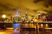 Sydney, porto di notte — Foto Stock