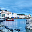 View of village of Cadaques at Dusk. — Stock Photo #28173269