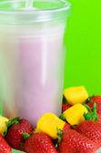 Shake erdbeer — Stockfoto