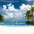 Luxury holiday resort  — Stock Photo