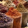 Spice market in the Middle East — Stock Photo