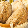 Fresh wholesome bread — Stock Photo