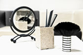 Hairdressers salon equipment — Stock Photo
