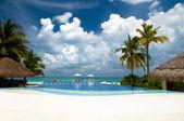 Luxury holiday resort — Stock Photo