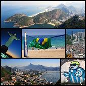 Rio de Janeiro - collage — Stock Photo