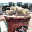 Starbucks double chocolaty chip frappuccino — Foto Stock
