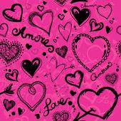 Valentine pattern — Stock Vector