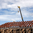 Stock Photo: Preparation roof tile