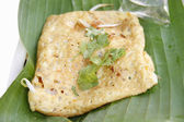 Omelets wrap fried Thailand — Stock Photo