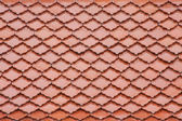 Red roof background — Stock Photo