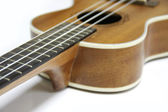 Wood ukulele — Stockfoto