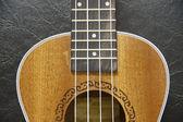 Wood ukulele — Stock Photo