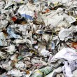 Stock Photo: Paper waste for recycle