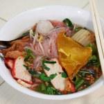 Soups noodles — Stock Photo #33512137