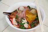 Soups noodles — Foto Stock