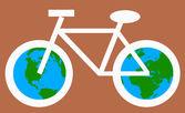 Çevre Bisiklet konsepti için — Stok fotoğraf