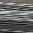 Bundle steel rods — Stock Photo