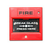 Fire alarm box — Stock Photo
