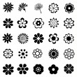 Flower vector set — Stock Vector #40503469