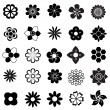 Flower vector set — Stock Vector #40503615