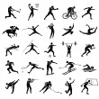 Sport icon set — Stock Vector #41598665