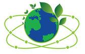 Science green world — Stock Vector