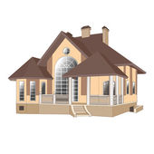 House, cottage — Stock Vector