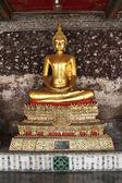 黄金の仏像 — ストック写真