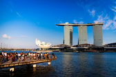 Marina Bay Sands — Stock Photo