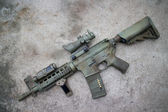 M4a1 airsoft gun — Stock Photo