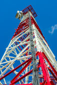 Communications Tower close-up — Stock Photo