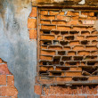 Stock Photo: Ancient brick wall