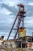 Abandoned mine — Stock Photo