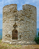 Tower in Nessebar, Bulgaria — Stock Photo