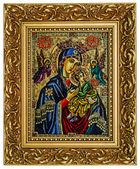 Jungfrau Maria und jesus — Stockfoto