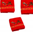 New year towels — Stock Photo #37702539