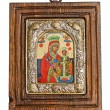 Silver Byzantine icon — Stock Photo #44708891