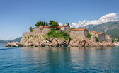 Sveti Stefan island  — Stock Photo