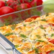 Delicious vegetables gratin — Stock Photo
